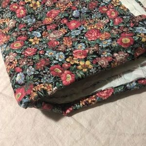 Other - Quilted Floral Fabric